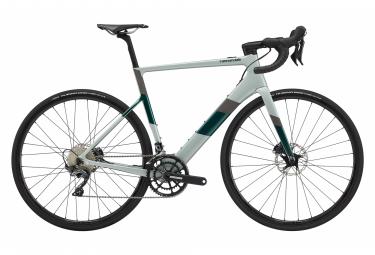 Vélo de Route Électrique Cannondale SuperSix EVO Neo 2 Shimano Ultegra 11V 2020 Gris / Vert
