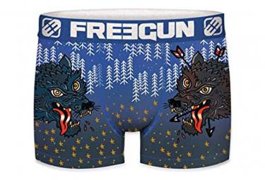 Boxer bleu homme Freegun WOLF