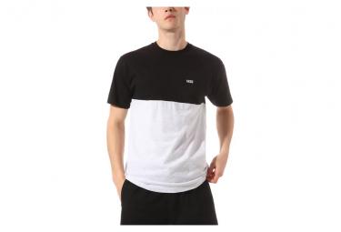 T-Shirt Manches Courtes Vans Colorblock Gris / Noir