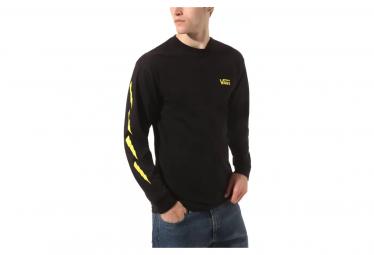 Vans Larry Edgar Long Sleeve T-Shirt Black / Yellow