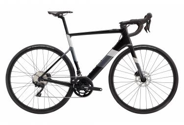 Bicicleta Electrica De Carretera Cannondale Supersix Evo Neo 3 Shimano 105 11s 250 Wh 700 Mm Black Pearl S   160 175 Cm