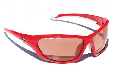 AZR KROMIC RACE Glasses Varnished Red / ECR Orange Photochromic
