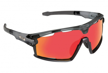AZR PRO FLASH RX Glasses Gray Varnished and Black / Red Screen