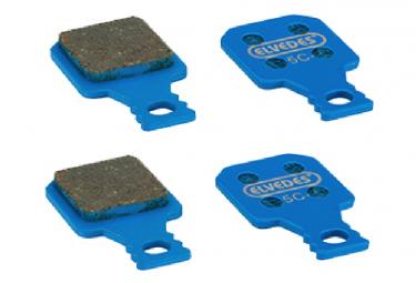 2 Pairs of Organic Brake Pads For Magura MT 5/7
