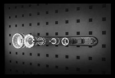 Magnetic socket holder Birzman 1/2 '' Dr. Socket Holder magnetic Panel