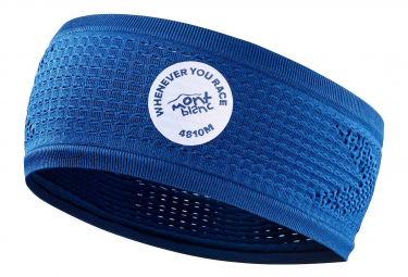 Bandeau Compressport HeadBand On/Off Mont Blanc 2020 Bleu
