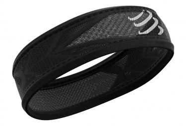 Bandeau Compressport Thin Headband On/Off Noir