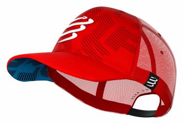 Gorra Compressport Trucker Gorra Roja