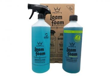 Peaty's Cleaning Kit: Loam Foam 1L / Loam Foam Concentr 1L