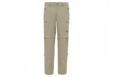 The North Face Pant Convertible Exploration Regular Beige Men 34
