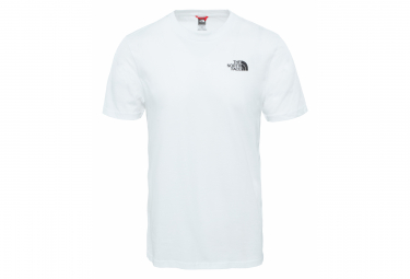 The North Face Tee Shirt Simple Dome Tee White Men