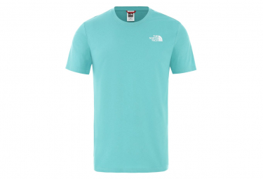 The North Face Redbox Celebration Tee Shirt Blue