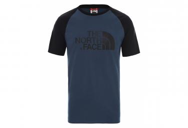 The North Face Tee Shirt Raglan Easy Blue Men