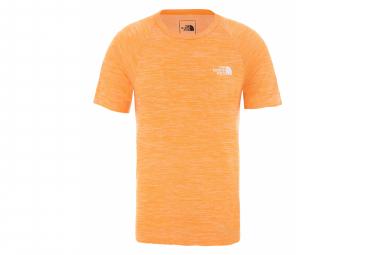 The North Face Tee Shirt Impendor Seamless Orange Men M