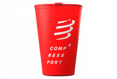 Compressport Fast Cup 200ml Rot
