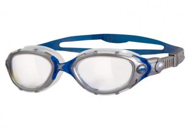 Zoggs Predator Flex Swimming Goggles Silver Gray Blue