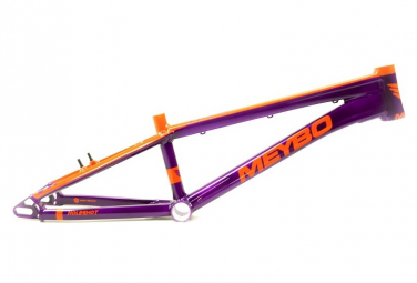 Cadre BMX Race Meybo Holeshot Violet / Orange 2020