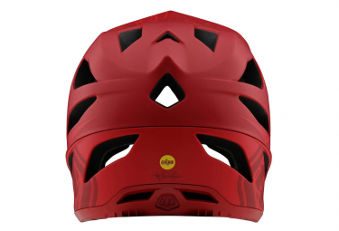 Casque Integrale Troy Lee Designs Stage Stealth Mips Rosso