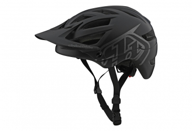 Troy Lee Designs A1 Drone Helmet Black / Gray