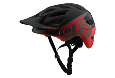 Casque Troy Lee Designs A1 Classic Mips Noir / Rouge