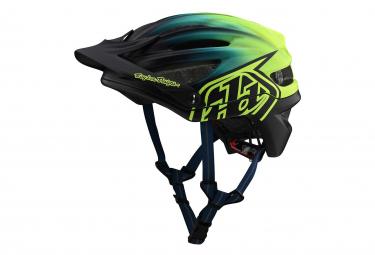 Troy Lee Designs A2 Mips Decoy Helmet Dark Blue / Yellow