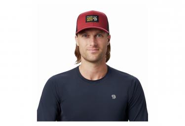 Image of Casquette mountain hardwear logo trucker cap rouge unisexe