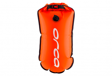 Flotteur avec poche d'hydratation ORCA Camelback Safety Buoy Orange