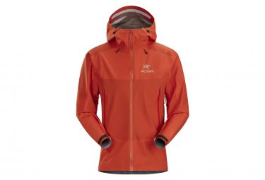 Waterproof Jacket Arcteryx Beta SL Hybrid GTX Orange Men
