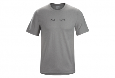 T shirt arcteryx remige word grey men m