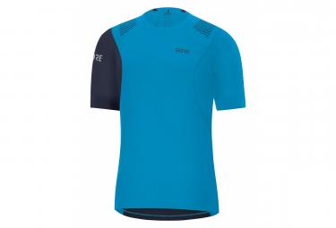 Gore R7 Shirt Dynamic Cyan Orbit Blue M