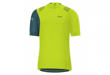 Maillot manches courtes Gore Wear R7 citrus Vert dark nordic