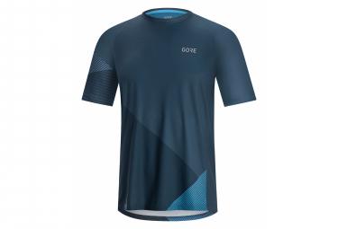 GORE Wear C5 Trail SS Jersey deep water blue/dynamic cyan