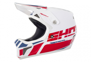 Int gral Shot Rogue Revolt White / Red Helmet