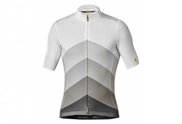 Mavic Short Sleeves Jersey Cosmic Gradient White