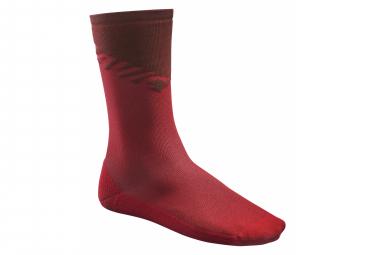 Mavic Deemax High Red Socks