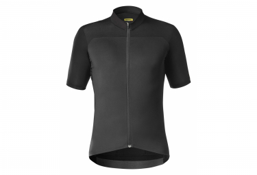 Mavic Short Sleeves Jersey Essential Black