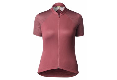 Mavic Womens Long Sleeves Sequence Graphic Red L