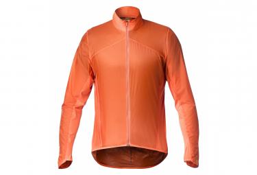 Mavic Long Sleeves Jacket Sirocco Red   Orange L
