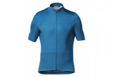 Mavic Short Sleeves Jersey Cosmic Blue