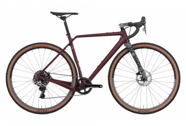 Gravel Bike Rondo Ruut CF2 Sram Rival 1 11V Bordeaux / Gray 2020