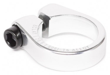 eclat PURE Seat Clamp silver polished 25.4mm