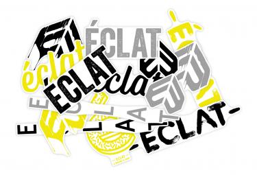 Kit de Stickers sur Cadre Eclat Jaune / Noir