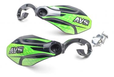 Handguards AVS Graphic Kit Green / Black