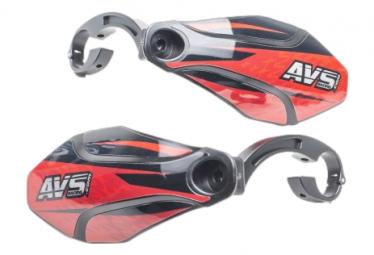 AVS Graphic Kit Handguards Red / Black