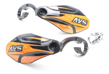 Paramanos AVS Kit gráfico naranja / negro