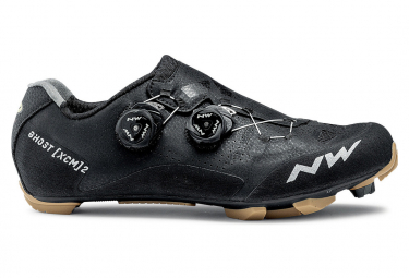 Northwave Ghost XCM 2 MTB Shoes Black / Honey Beige