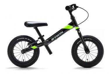Btwin Balance Bike Runride 900 12'' Noir / Jaune