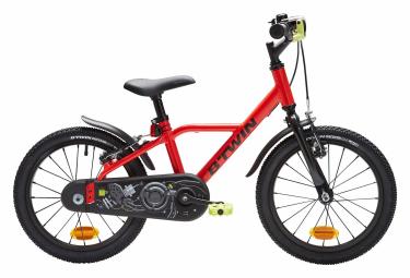 Vélo Enfant B'Twin 900 Alu Racing 16'' Rouge 4 - 6 ans
