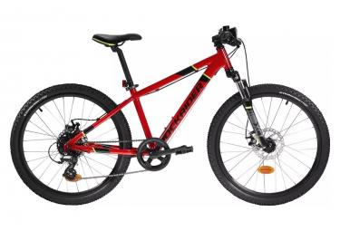 ROCKRIDER ST 900 MTB para niños de 24''; 9-12 años Rojo