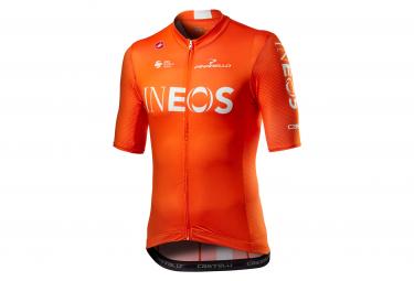 Maglia manica corta Castelli Competizione Team Ineos 2020 Arancione